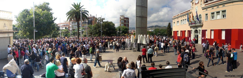 29s huelga en santa coloma de gramenet for Chiquipark en santa coloma de gramenet